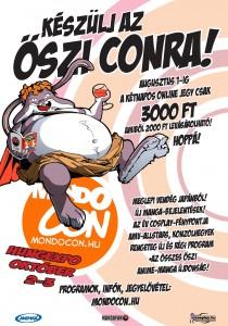 MondoCon 2010 plakát