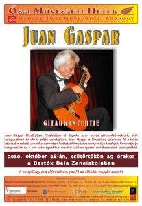 Juan Gaspar koncert