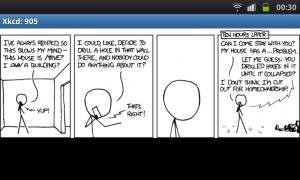 Olvasgassunk xkcd-t a Comic Reader-rel