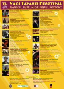 11. Váci Tavaszi Fesztivál program