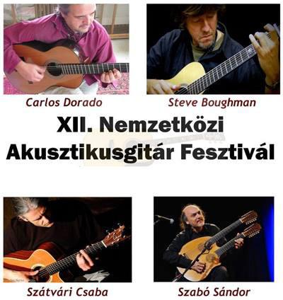 XII. Nemzetközi Akusztikusgitár Fesztivál