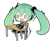 Miku sticker pack
